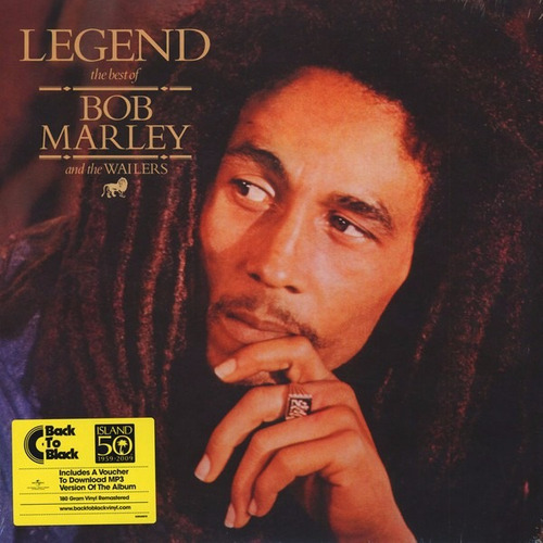 vinilo bob marley & the wailers legend the best nuevo sellad