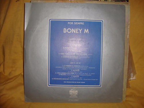 vinilo boney m por siempre sl p2