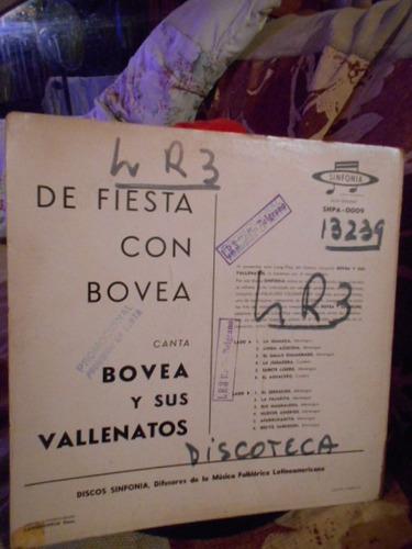 vinilo bovea y sus vallenatos de fiesta con bovea '