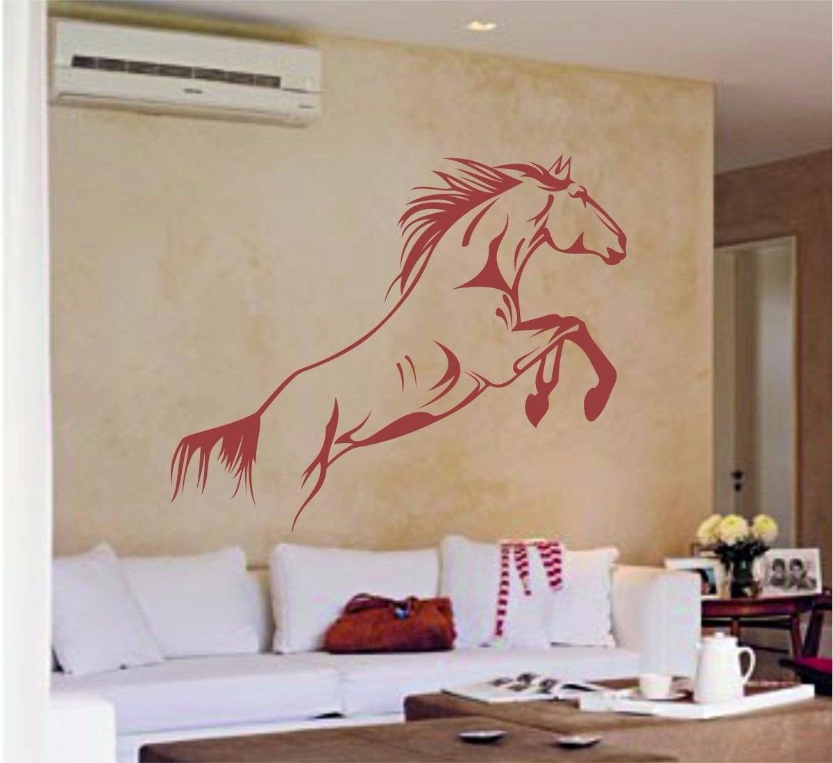 Vinilo caballo galopa decoracion de pared interiores for Decoracion paredes interiores