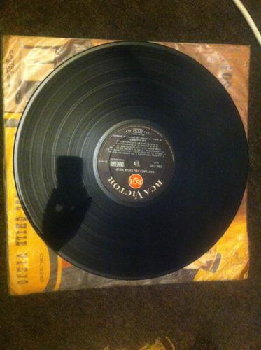 vinilo cantares del chile viejo los nocheros1965