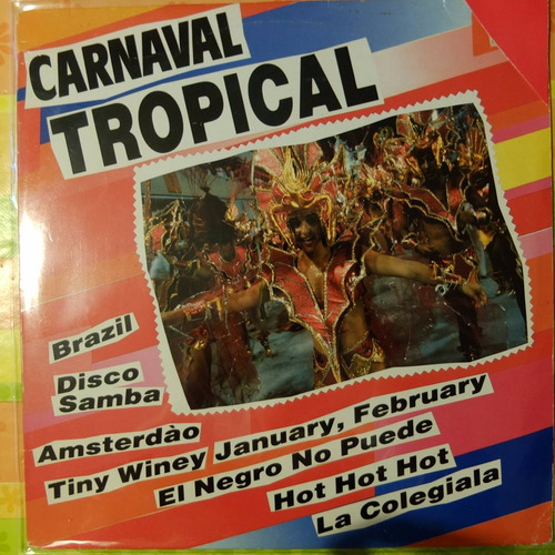 vinilo carnaval tropical