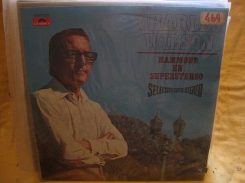 vinilo charles wilson hammond en superstereo p4