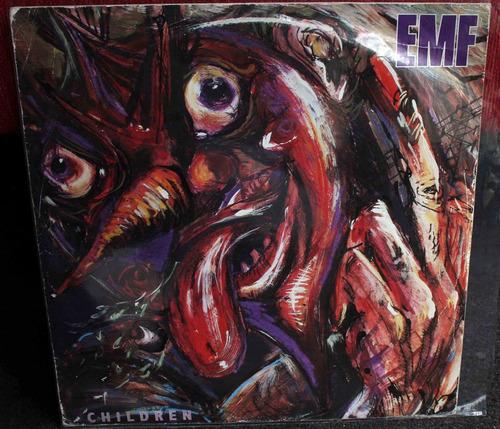vinilo children  maxi emf 1991 uk