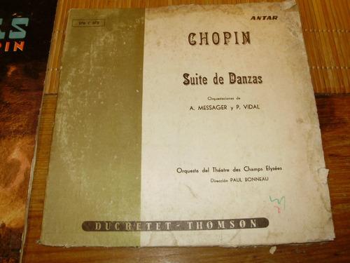 vinilo chopin lote 2 lp rca victor ducretet thomson uruguay