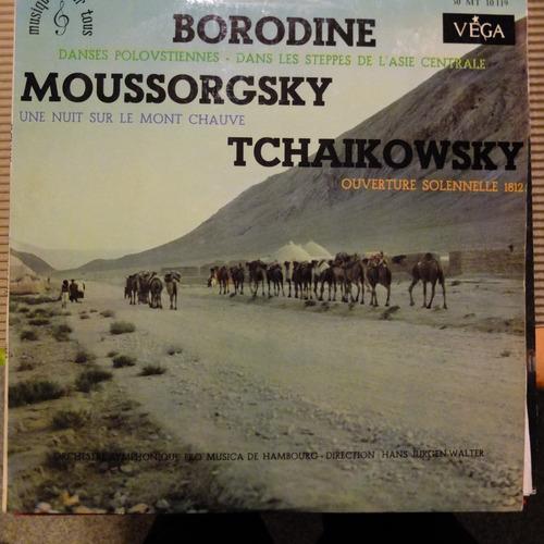 vinilo clasico borodine, moussorgsky, tchaikowsky