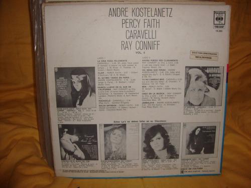vinilo conniff caravelli perci faith kostelanetz volumen 4