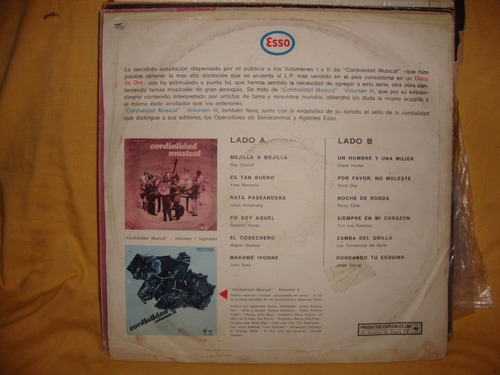 vinilo coordialidad musical volumen 3 armstrong zaravia sl