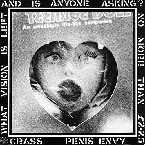 vinilo : crass - penis envy