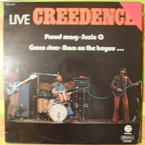 vinilo creedence clearwater revival live creedence