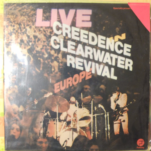 vinilo creedence clearwater revival live in europe 2lp