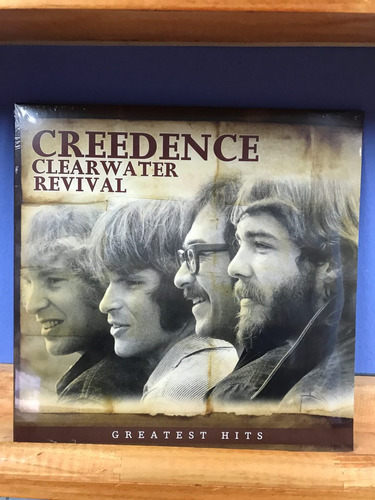 vinilo creedence, greatest hits, nuevo y sellado