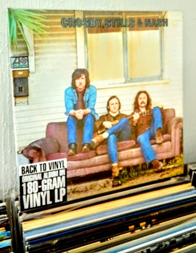 vinilo crosby stills & nash. nuevo,sellado. import. usa.