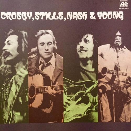 vinilo crosby, stills, nash & young - all together ed japón