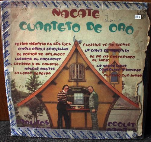 vinilo cuarteto de oro ñacate mona jimenez lp argentino