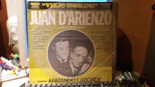 vinilo d arienzo y su orqueta tipica  - viejo smoking-