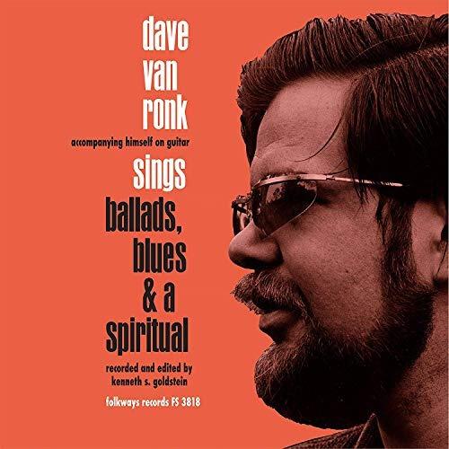 vinilo : dave van ronk - ballards blues & a spiritual (lp...