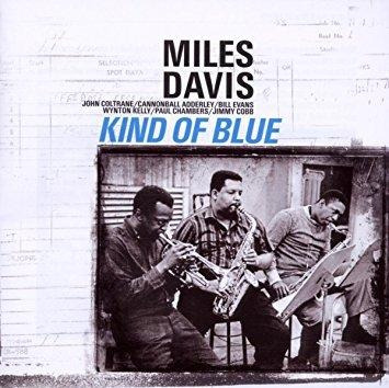 vinilo davis miles, kind of blue. lp importado