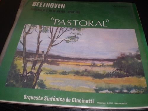 vinilo de beethoven  --pastoral  sinfonia n°6 en fa may(u694