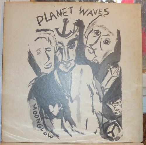 vinilo de bob dylan - planet waves, edicion japonesa