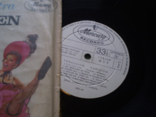vinilo de  david carroll percusion parisien (838)