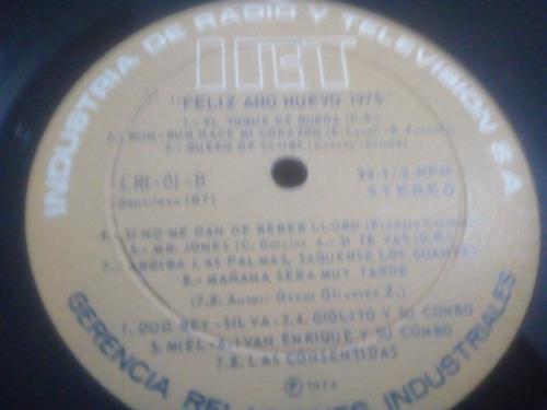vinilo de feliz navidad 1974- feliz año nuevo 1975 (586)