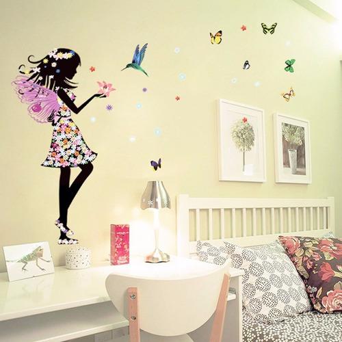 vinilo de hermosa mariposa elf