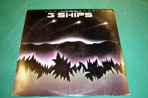 vinilo de jon anderson  3 ships