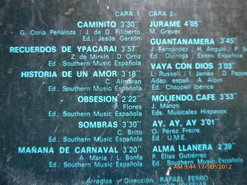 vinilo de julio iglesias  america (u145