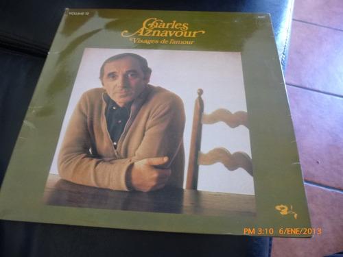 vinilo de  lp charles aznavour visajes de l amour (21)