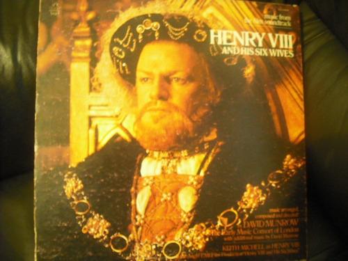 vinilo de lp de enri fffffvlll and his six w  henry vi(u743