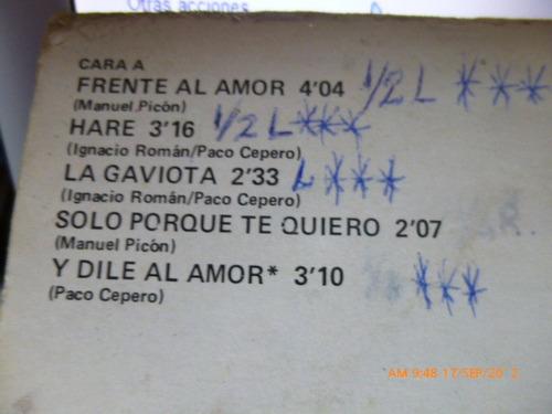 vinilo de maria jimenez  frente al amor (293)