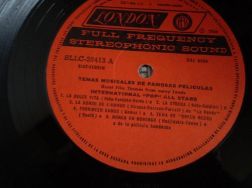 vinilo de temas famosos de peliculas (839)