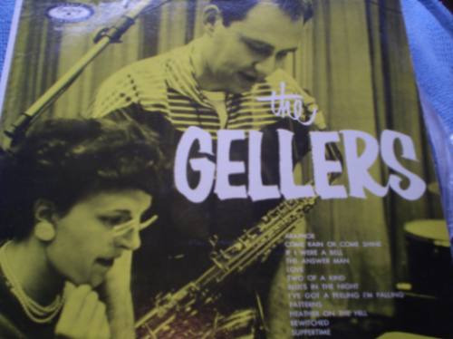 vinilo de  the gellers (u696