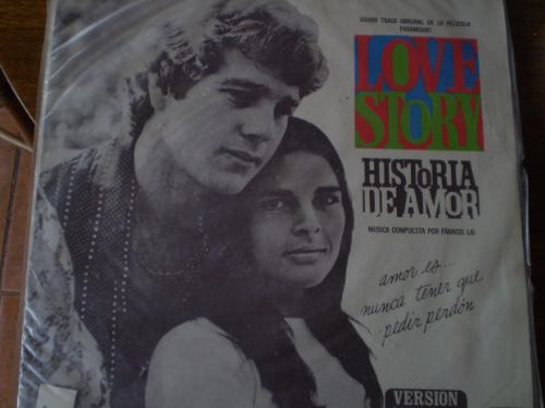 vinilo de una historia de amor (u889