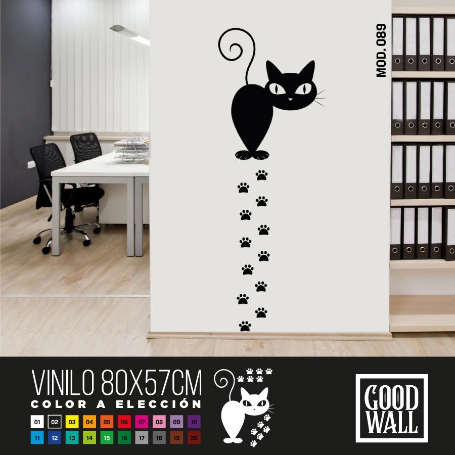 Vinilo Decorativo Animalitos Divertidas 80x57 Cm Goodwall Pc