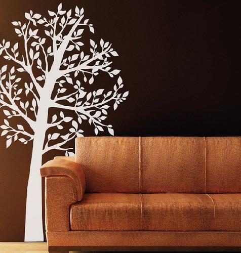 vinilo decorativo árbol - 115 b x 190 a