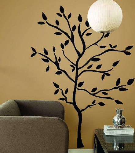 vinilo decorativo árbol - 120 b x 150 a