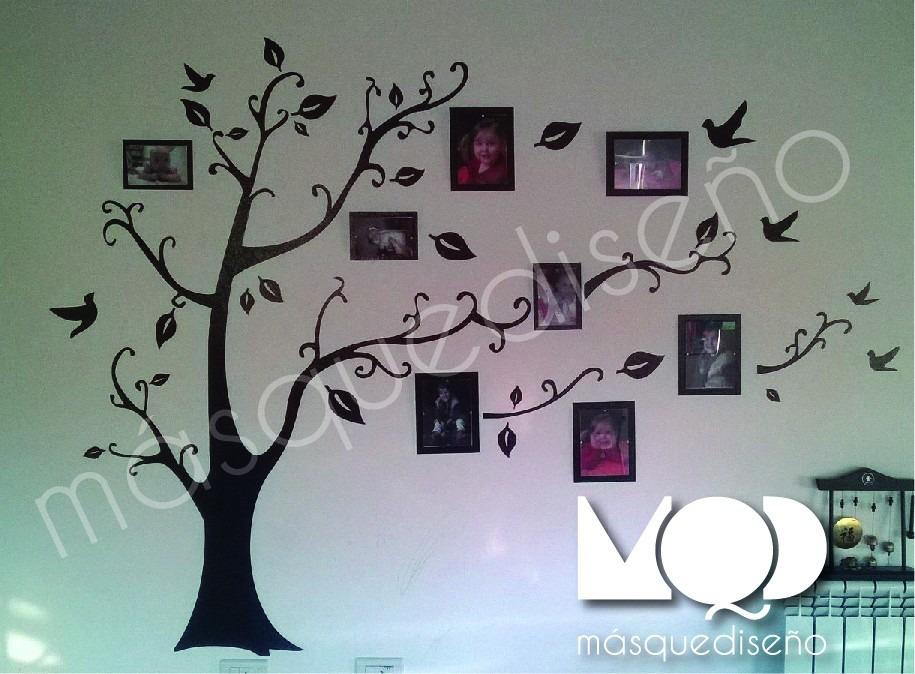 Vinilo Decorativo Arbol Genealogico Para Fotos 60000 En