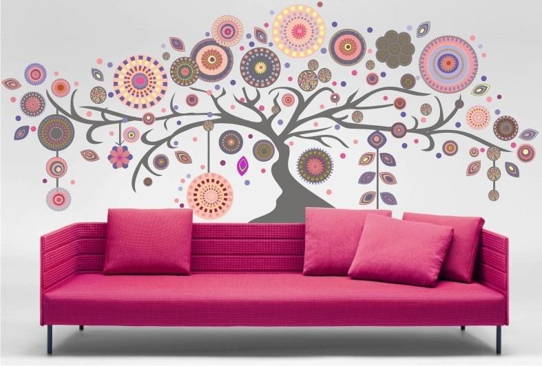 Decorativo all you need is love u vinilo decorativo with for Vinilos pared mandalas