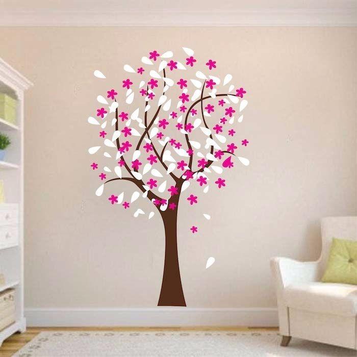 Arbol Decorativo Con Flores