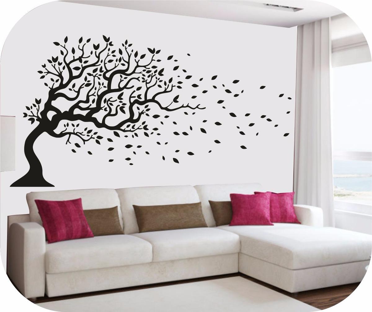 Vinilo decorativo arboles y ramas decoracion paredes stic - Decoracion con ramas de arboles ...