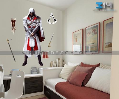 vinilo decorativo assassin's creed 01 calcomanía de pared
