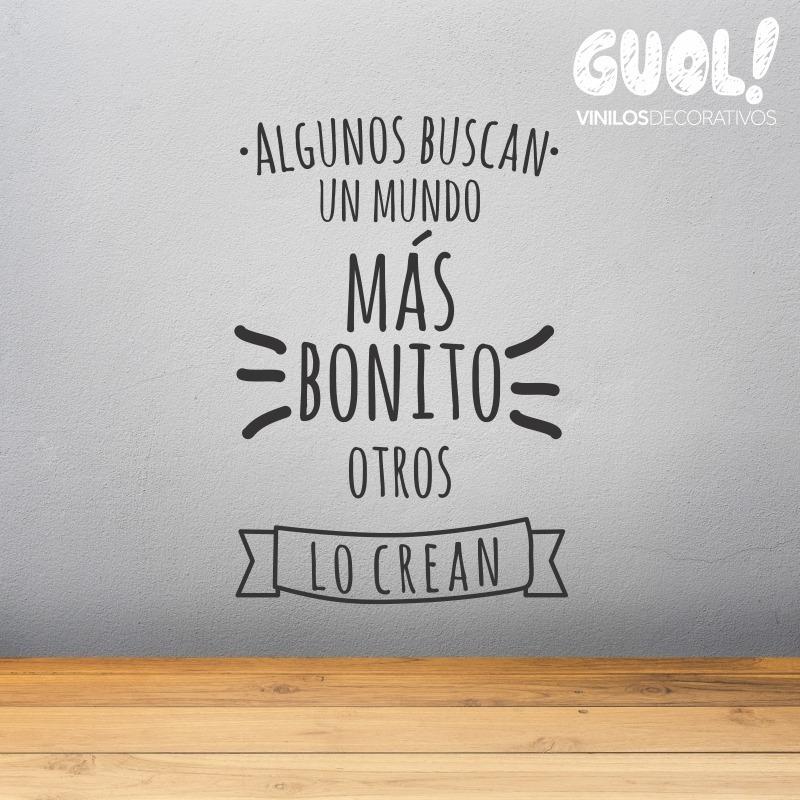 Vinilo Decorativo Frases Fra06 En Ingles Y Español