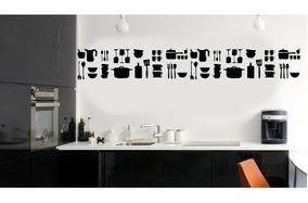 Vinilo Decorativo Guarda Azulejo Pared Muebles Cocina X 1 Mts A 2 Colores