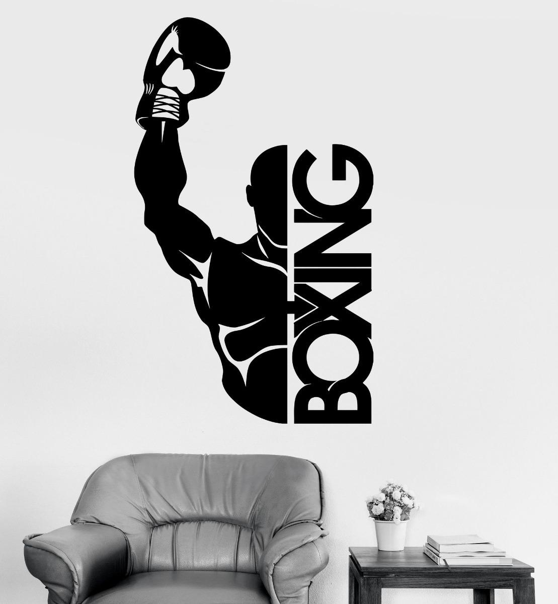 Vinilo Decorativo Hombre Box Mas De 2000 Diseños Pro