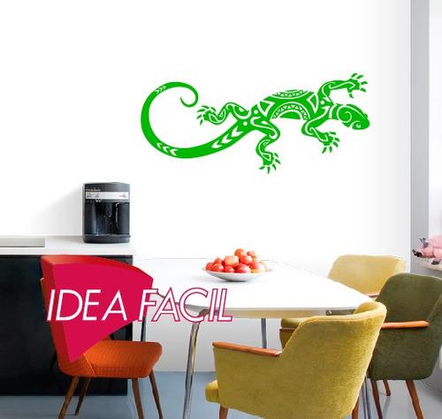 vinilo decorativo iguana 150 b x 60 a
