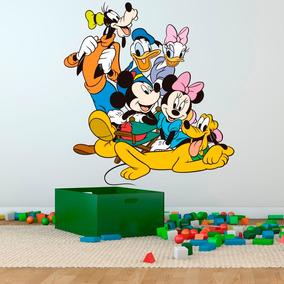 Vinilos Infantiles Disney.Vinilo Decorativo Impresion Mickey Disney Personaje Infantil