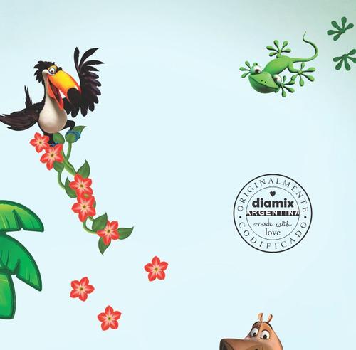 vinilo decorativo infantil selva