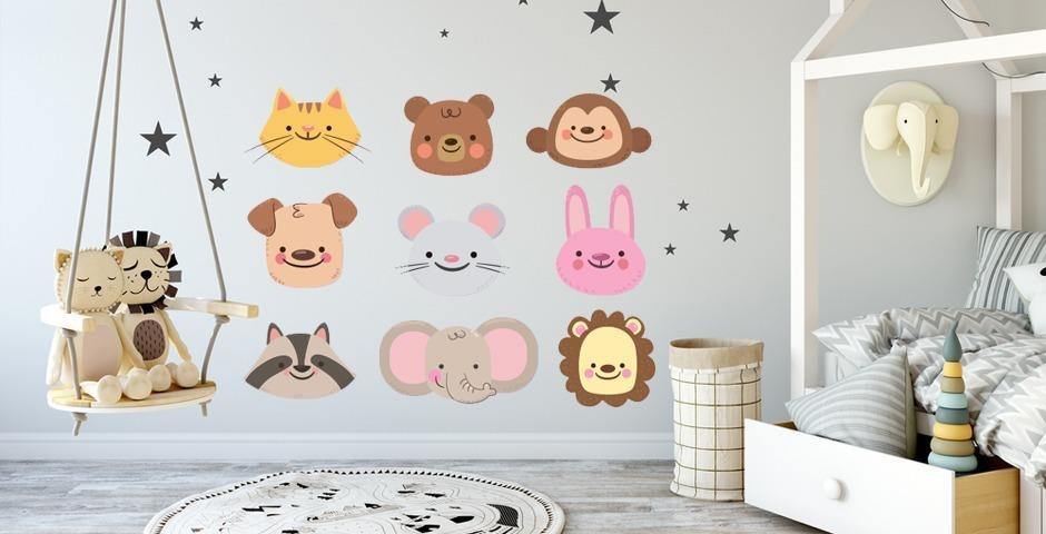 Vinilo Decorativo Infantiles Osos Panda Ositos Cuarto Bebe - $ 360 ...